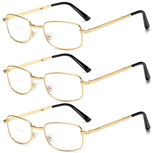 LING AI DA Mai Leesbril, 5 paar, veerscharnieren, vintage, heren, leesbril, mode, dames, lezen, veerscharnier anti-schittering, ultraviolette digitale oogvermoeidheid