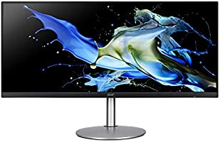 """Acer CB342CK smiiphzx 34"""" UltraWide QHD (3440 x 1440) IPS Zero Frame Monitor with AMD Radeon FREESYNC Technology - HDR..."""