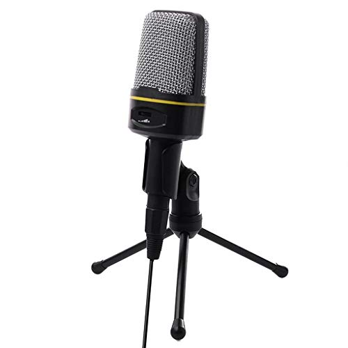 JYDQM 3.5mm USB Microphone Mic Condenser Recording Studio Tripod Stand for PC Phone Wired Microphone JHP-Best (Color : Style two)