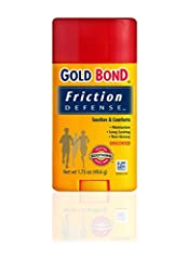 FRICTION DEFENSE: When skin rubs on skin or against clothing, irritation & burning are the result. This easy application stick reduces friction while soothing & moisturizing your roughed up skin. PROTECT & PREVENT SKIN IRRITATION: Friction Defense is...