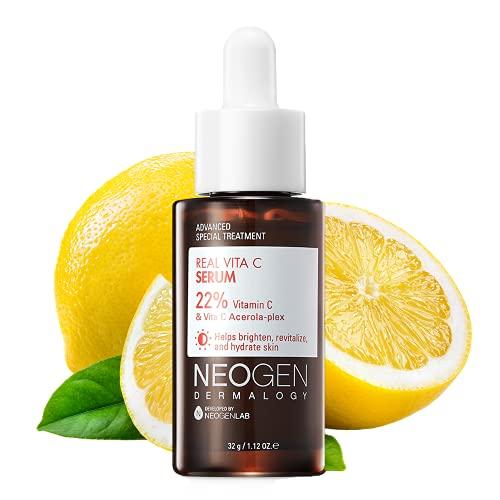 DERMALOGY by NEOGENLAB Vitamin C Serum 22% with Pure Ascorbic Acid I vitamin complex (Vitamin E, Vitamin B5) and Niacinamide (VITA C SERUM)