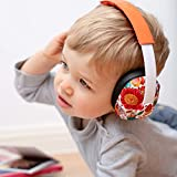 Bamini, Protection Noise Cancelling Ear Muffs for Kids,Safety Earmuffs for Child,Baby Hearing Protection Earmuffs(Orange)