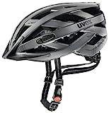 Uvex City i-Vo Casco de Ciclismo, Hombre, Dark Silver Mat, 52-57 cm