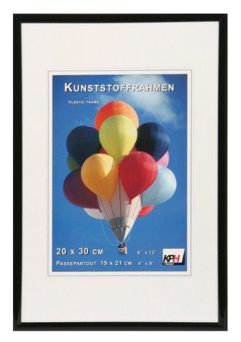 *** New Lifestyle Kunststoff Bilderrahmen ***: Farbe: Schwarz | Format: 21x29,7 (DIN A4)