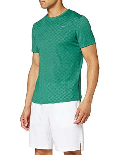 Nike M NKCT CHLLNGR TOP SS T-shirt Homme Mystic Green FR (Taille Fabricant : XS)