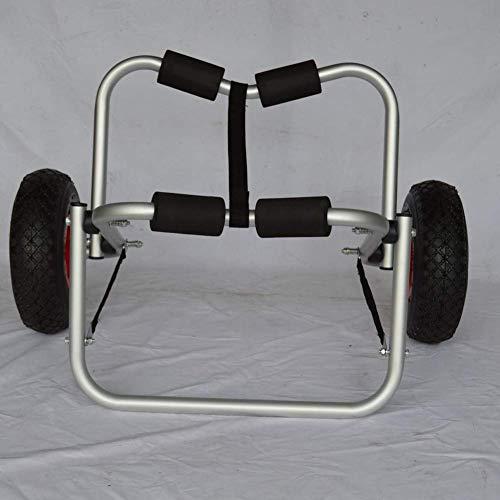 Yppss Kayak Zubehör Cart, verdickte 3MM Rohrwandaluminiumlegierung Kajak Anhänger, gebraucht Kajaks zu tragen, Kanus, Paddel-Boards, die Schwimmer und Boote, Can 100Kg Halten Eternal