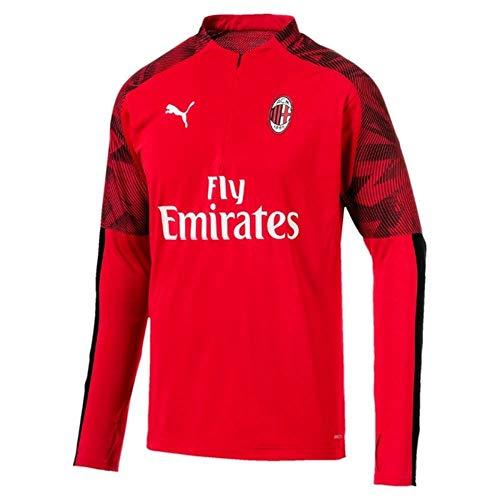 PUMA Trainingsfleece AC Milan 2019-2020 (rot), Herren, rot, XXL Adults - 47-49
