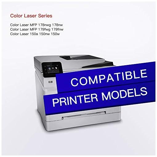 GPC Image 117A Reemplazo de Cartucho de Tóner Compatible para HP 117A para HP Color Laser 150a 150nw MFP 178nw 179fnw… 2