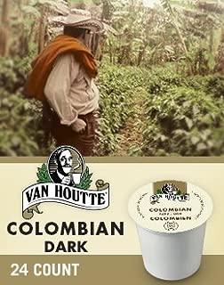 Van Houtte 100% Colombian Medium Roast Coffee, 24-Count K-Cups for Keurig Brewers