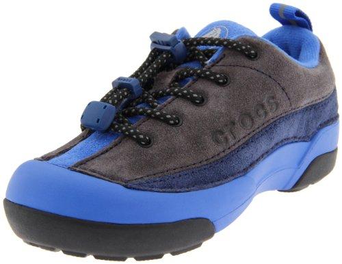 Crocs Europe B.V. crocs Dawson Sneaker Kids 11464, Jungen Halbschuhe, Grau (Graphite/Navy), EU 22 (US C5)