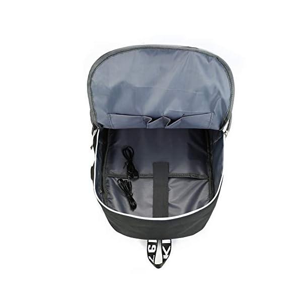 41qP4V9Uz4L. SS600  - Mochila Blackpink 36L-55L con Puerto de Carga USB Mochila de Ocio para Niñas Niños
