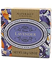 Naturally European Fragrance by Somerset Plum violet soap bar by somerset