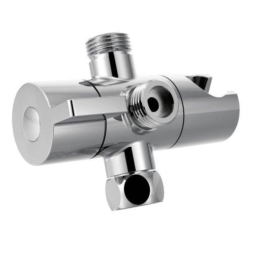 Moen CL707 Shower Arm Diverter with Hand Shower Cradle, Chrome