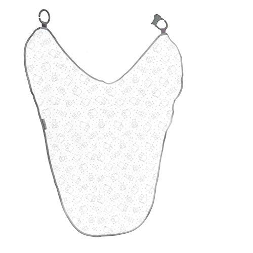 Cheeky Chompers, MultiMuslin, Silver Stars - 6 in 1 Innovative Uses