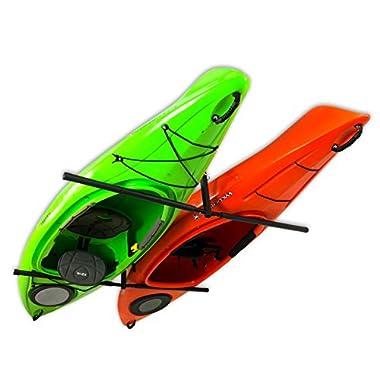 2 Kayak Ceiling Rack | Hi-Port 2 Storage Hanger Overhead Mount | Adjustable (Extra Large (30  Arms))