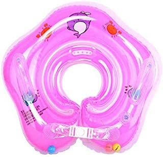 Inflatable Baby Neck Swimming/Bath Float (Pink)