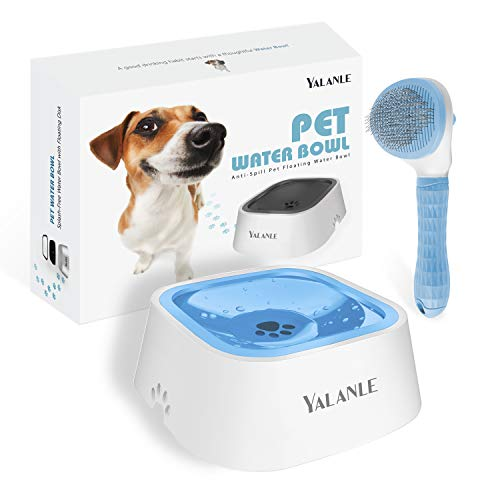 (70% OFF Coupon) No-Spill Pet Water Bowl Slow Water Feeder $7.50