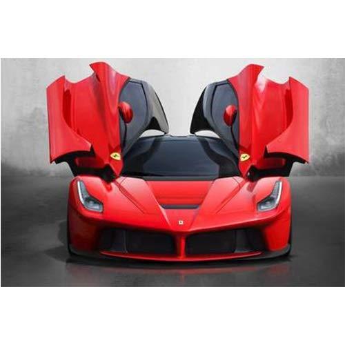 520 1000 1500 piezas de desarrollo rompecabezas de madera, juguetes personalizados creativos regalo Super coche de Sport Ferrari p407 (tamaño: 1500 unidades)