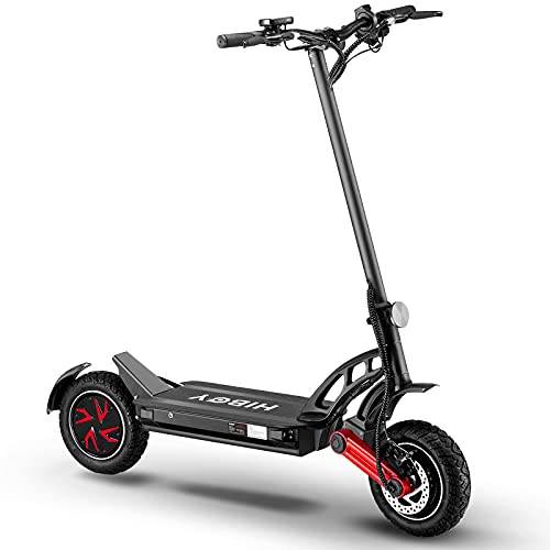 Hiboy Electric Scooter, Titan PRO Offroad Electric Scooter for Adults with Powerful Dual 1200W Motors, Max Speed up to 32 MPH, 40 Miles Long Battery Ranges