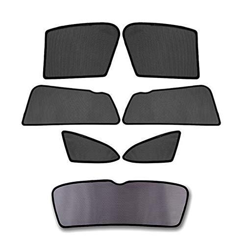 Psler Auto Magnetische Sonnenschutz für Seitenfenster Heckscheibe für Yeti 2015-2019