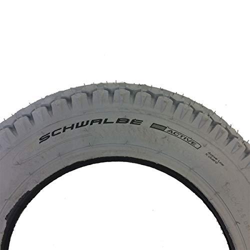 SCHWALBE Classics HS 158 Active 12 Zoll Rollstuhl GRC Draht grey 2017 Reifen