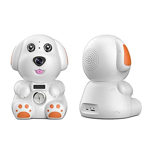 CHENPENG Cámara de Seguridad de cámara para el hogar, cámara Oculta de decoración, cámara de niñera HD 1080P con vibración de detección de Movimiento de visión Nocturna