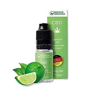 Premium CBD Liquid Lemon Tree von Breathe Organics