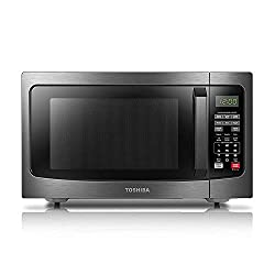 top 10 medium sized microwaves Microwave oven with intelligent sensor, easy internal cleaning, ECO mode and sound Toshiba EM131A5C-BS…