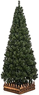 クリスマスツリー180cmスリム濃緑 品質保証高級ツリー