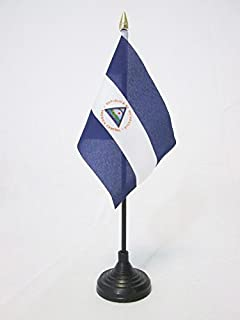 Zzxi Flag of Nicaragua Unisex Outdoor Sport Scarf Headbands Bandana Mask Neck Gaiter Head Wrap Sweatband Headwear