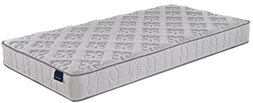 Home Life Harmony Sleep 8' Pocket Spring Luxury Mattress, Twin, White