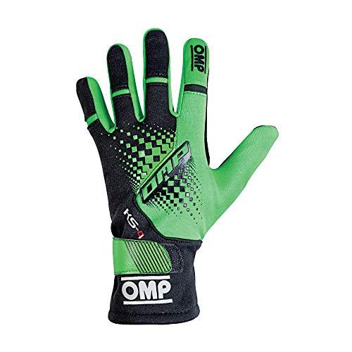 Omp OMPKK02744E231XL Ks-4 Handschuhe My2018 Grün/Schwarz Gr Xl