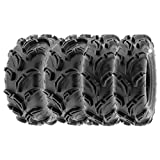 SunF 27x9-14 27x11-14 ATV UTV Tires 6 PR Tubeless A048 [Bundle]