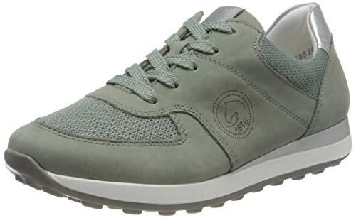 Remonte Damen R1800 Sneaker, Mint/Mint/Silver / 52,41 EU Weit
