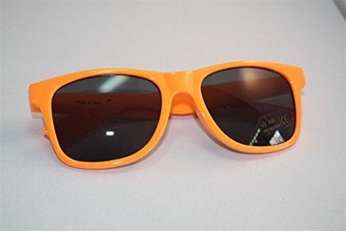 Bacardi Razz Sonnenbrille ORANGE NERDBRILLE UV400