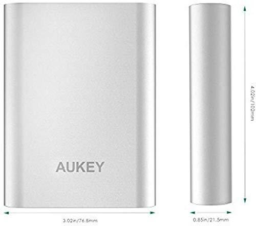 Banco de carga Aukey PB-T15 –  10050mah Carga Rapida