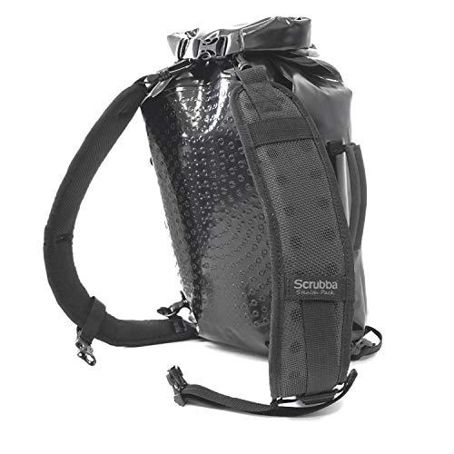Scrubba Unisex Adult STEALTHP-001 Daypack, schwarz