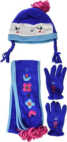 Tuc Tuc Prenda Yeti and CO Set de bufanda, gorro y guantes, Azul 00, 6 años (Tamaño del fabricante:48) para Niñas