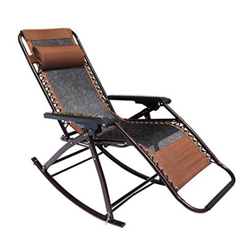 YYDD Silla de ocio plegable reclinable lateral reclinable reclinable con pedales Silla portátil Director Silla de playa Pesca Camping Jardín Multiusos Anticorrosión