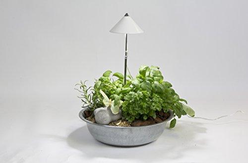 Venso EcoSolutions Sunlite Pflanzenlampe, weiß