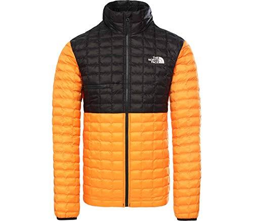 THE NORTH FACE Thermoball Eco Light Jacke Herren Flame orange/TNF Black Größe M 2020 Funktionsjacke