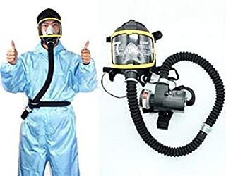Wang Electric Constant Flow Supplied Air Fed Full Face Mask Respirator System