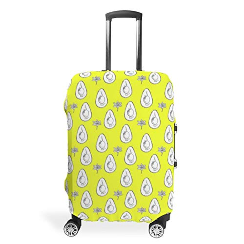 XJJ88 Travel Suitcase Cover Protector - Dustproof Multi Size for Many Suitcase White l(26-28 inch)