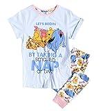 Womens Winnie The Pooh Naps Disney Pyjamas Blue