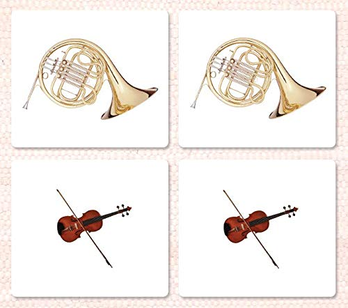 Orchestral Instruments Matching Cards