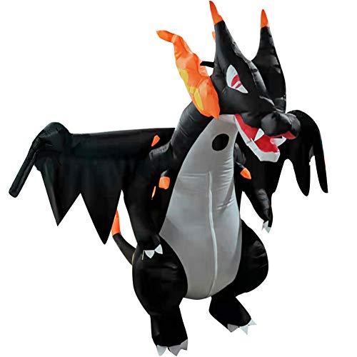 Parkomm Disfraz Inflable de dragón Spitfire, Disfraz de Dinosaurio Spitfire para Adultos...