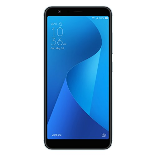 "ASUS ZenFone Max Plus ZB570TL-MT67-3G32G-BL - 5.7"" 1920x1080-3GB RAM - 32GB storage - LTE Unlocked Dual SIM Cell Phone - US Warranty - Silver"