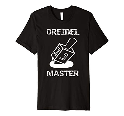 Premium Dreidel Master Dreidels Jewish Holiday Shirt