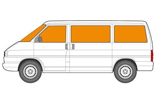 Just Kampers Thermo-Jalousie, silberfarben, 8-teiliges Innen-Set, kompatibel mit VW T4 Transporter 1990-2003