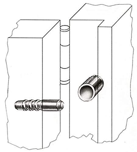 Tür Fenster Einbruchschutz Türaushebesicherung Scharnierseitensicherung Stahl